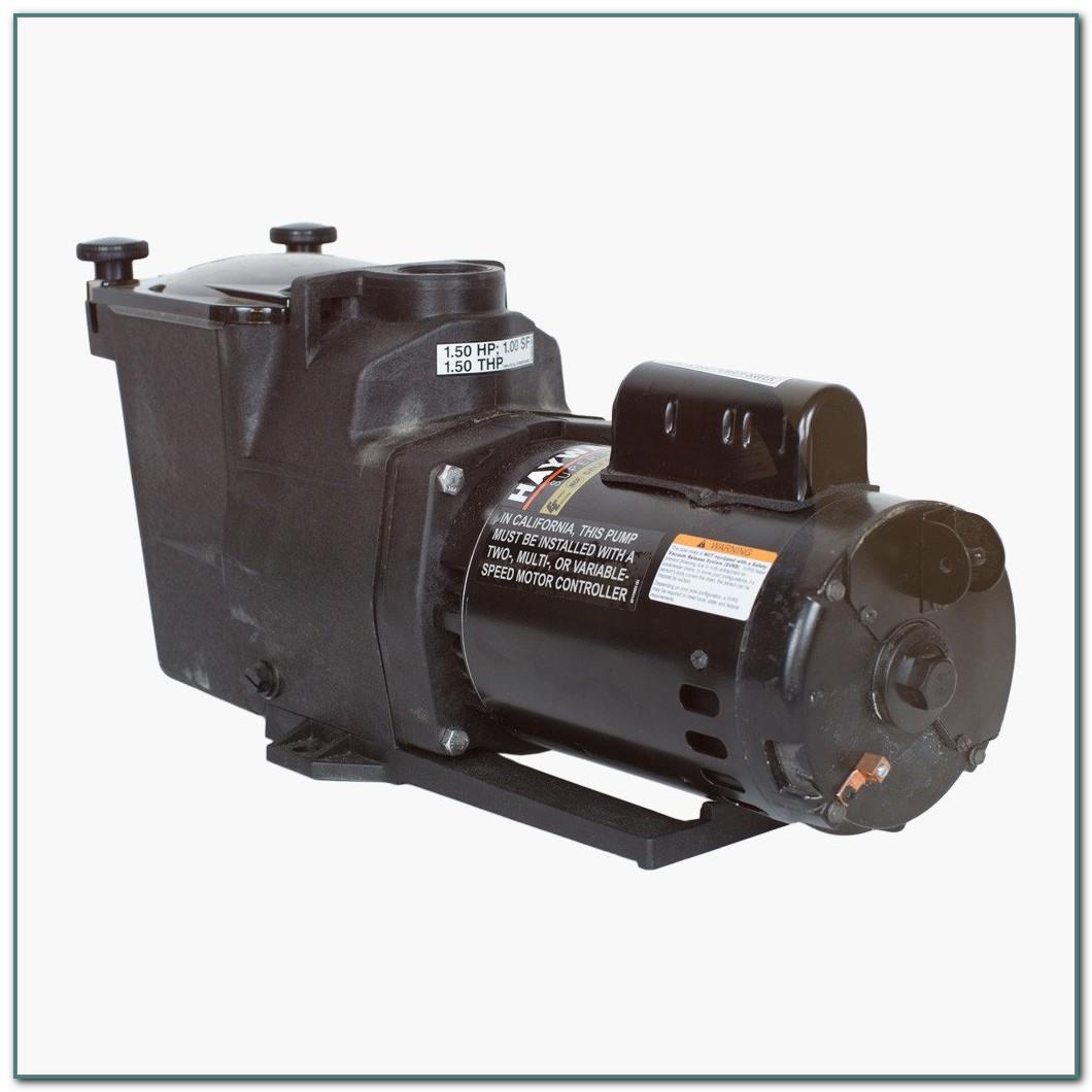 1 1 2 Hp Pool Pump Motor