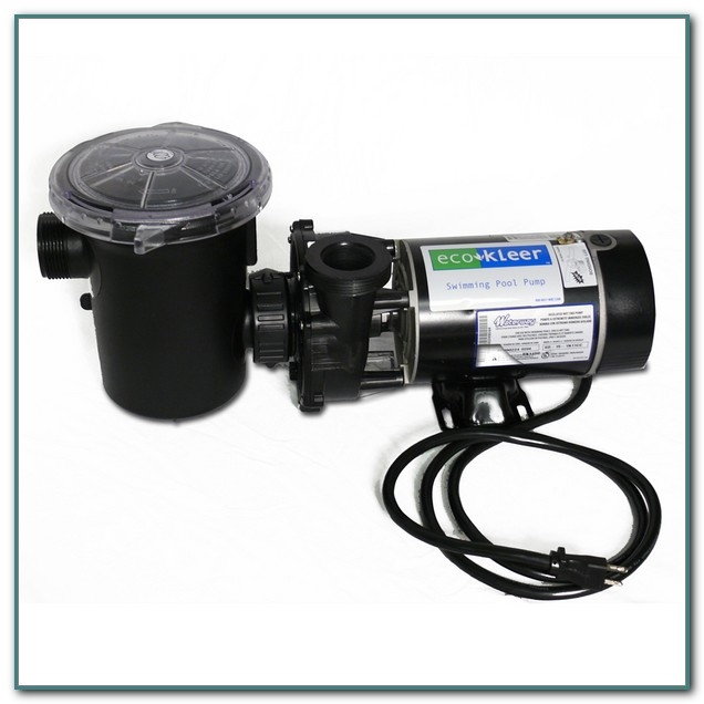 1 Hp Pool Pump Motor