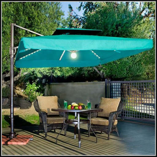 10 Square Offset Patio Umbrella