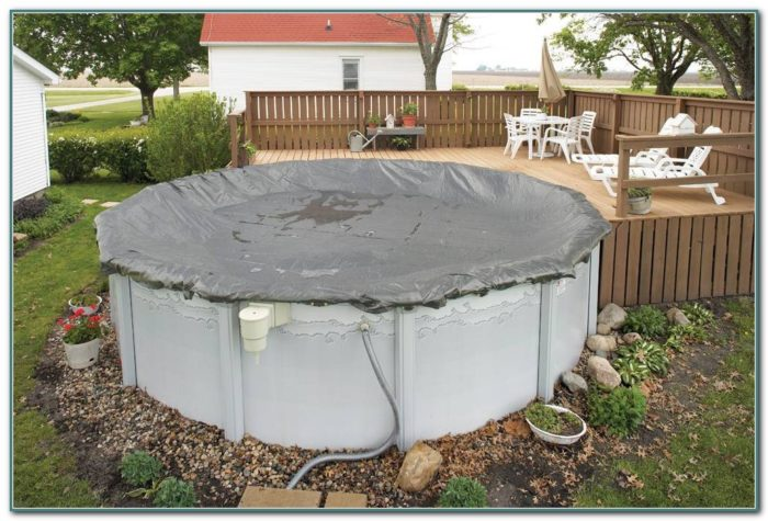 18ft Above Ground Pool Cover