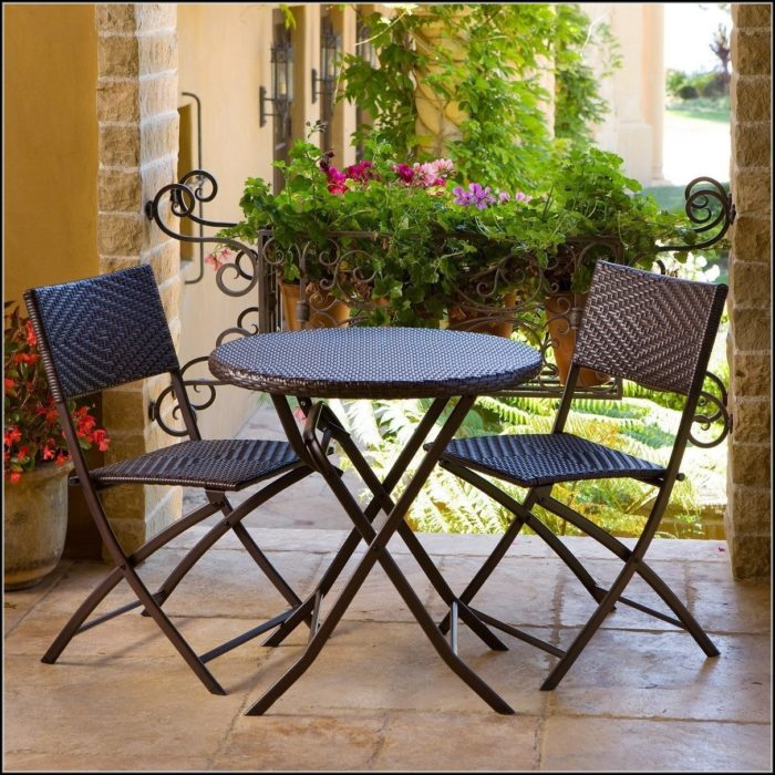 3 Piece Bistro Patio Furniture