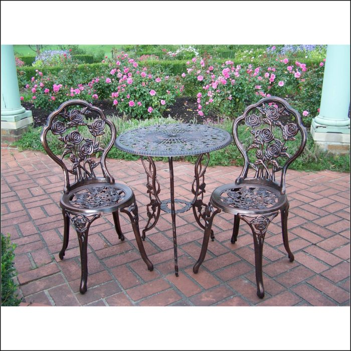 3 Piece Bistro Patio Set Walmart