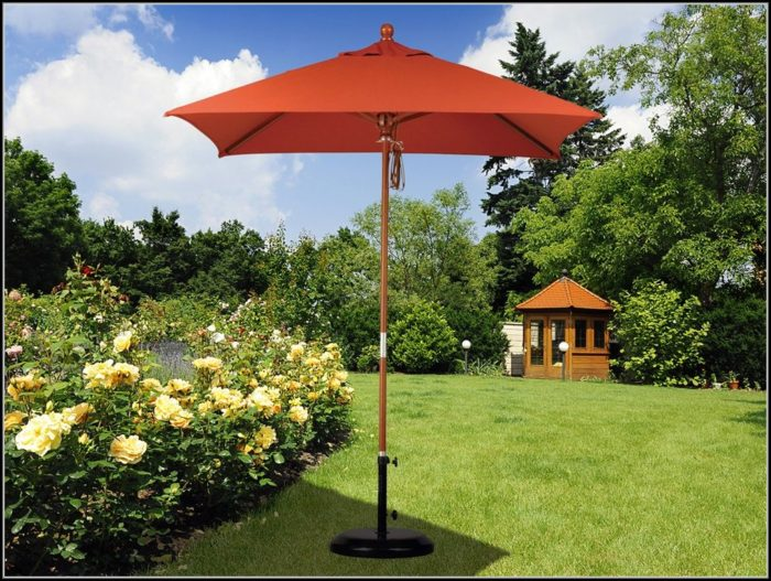 6 Foot Square Patio Umbrella