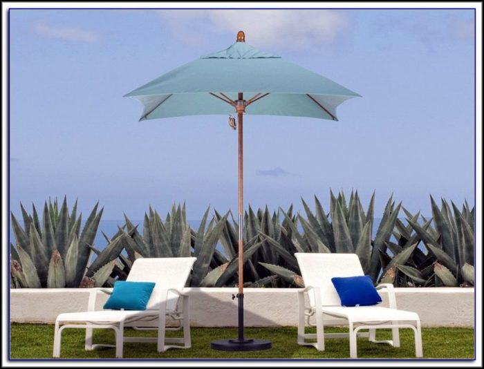 6 Foot Sunbrella Patio Umbrella