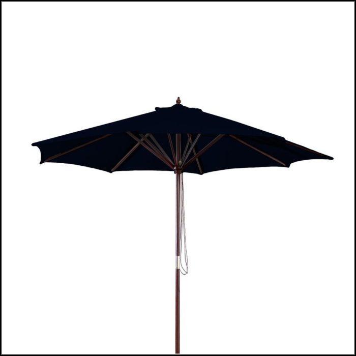 9 Ft Patio Umbrella Black