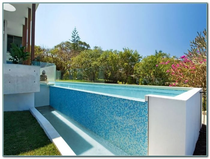 Above Ground Lap Pool Designs