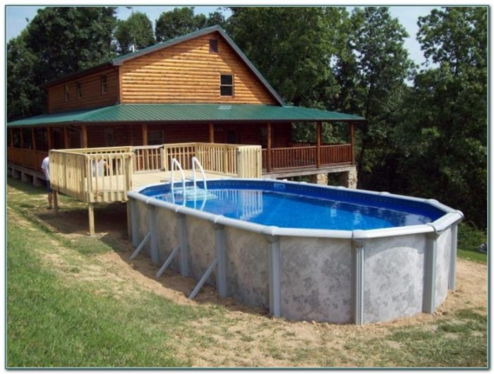 Above Ground Oval Pool Packages
