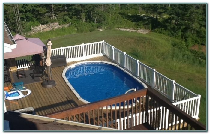 Above Ground Oval Pools Canada