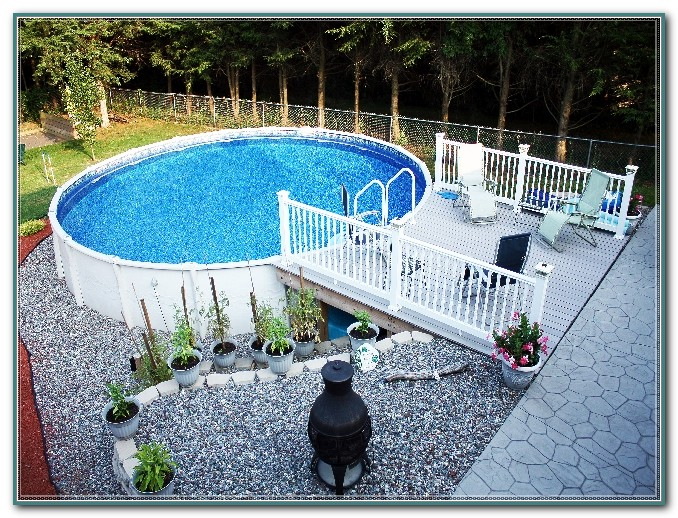 Above Ground Pool Deck Fence Kit