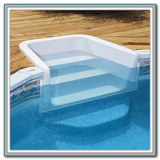 Above Ground Pool Decks And Steps