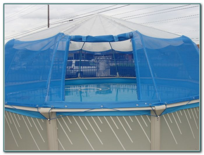 Above Ground Pool Dome Cover