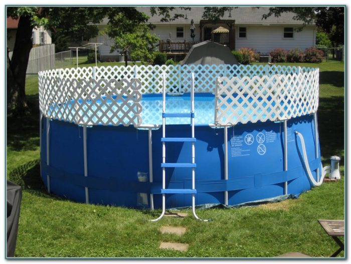 Above Ground Pool Fencing Ideas
