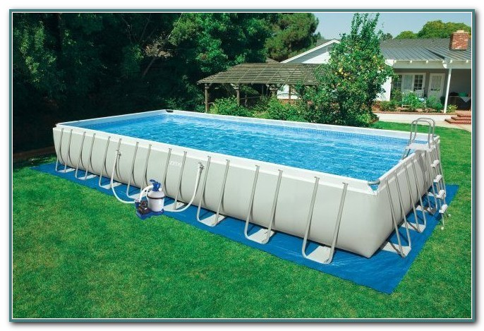 Above Ground Pool Intex Ultra Frame