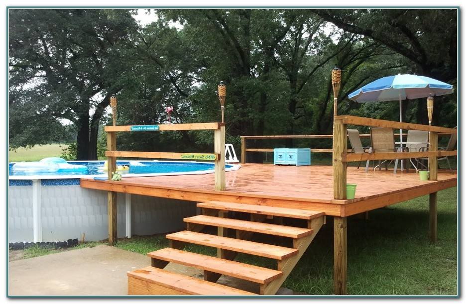 Above Ground Pool Packages With Deck