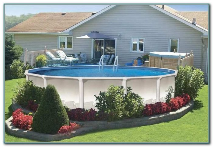 Above Ground Pool Removal Landscaping