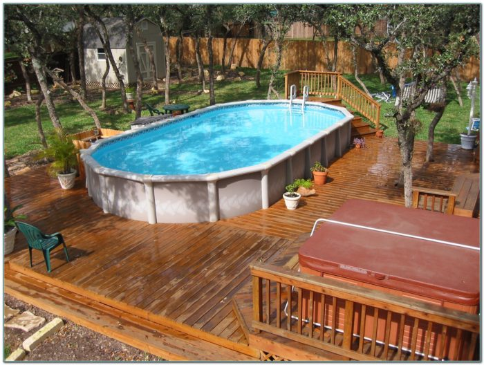 Above Ground Pools Packages