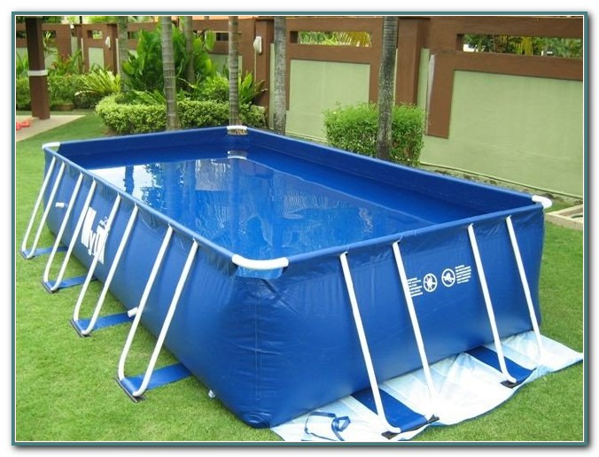 Above Ground Rectangular Pool