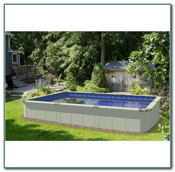 Above Ground Rectangular Pools Small