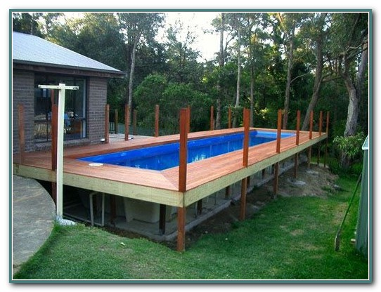 Above Ground Rectangular Pools