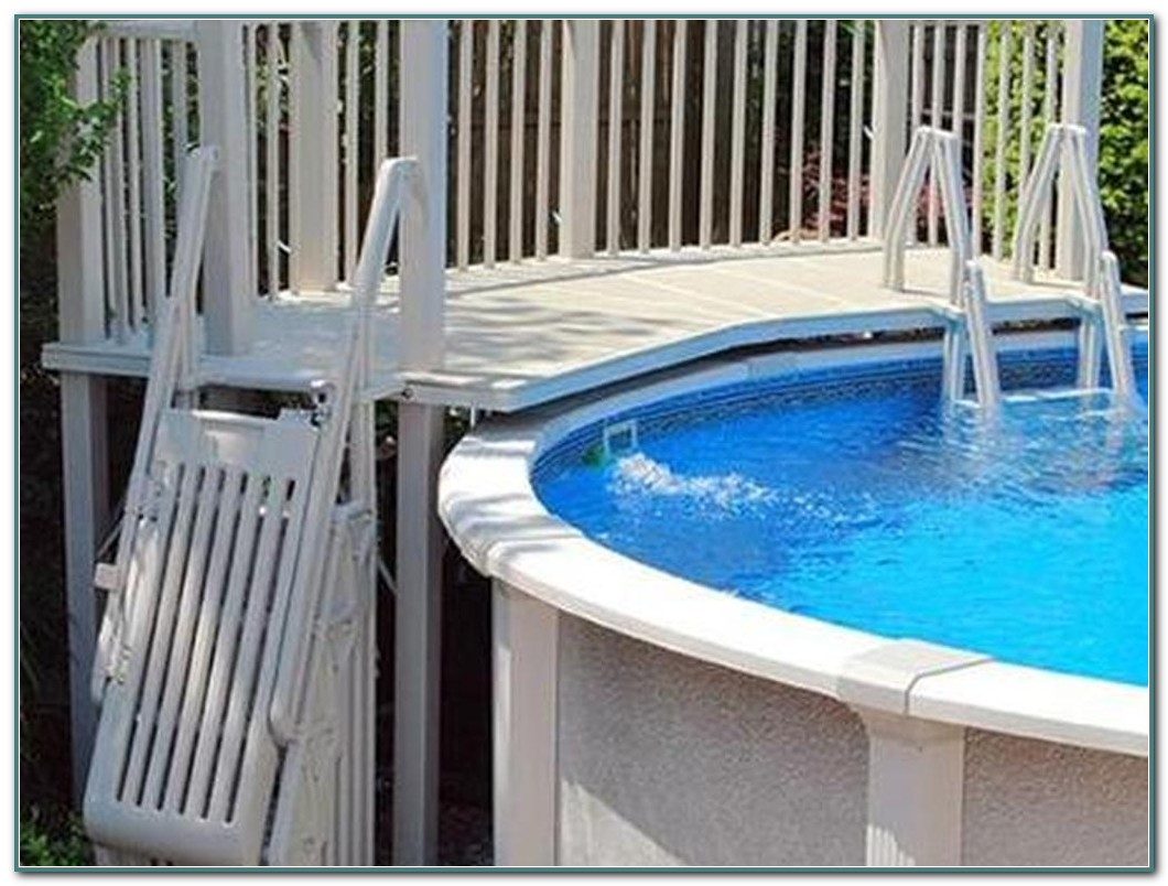 Above Ground Swimming Pool Deck Kit