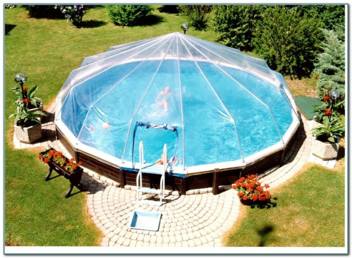 Above Ground Swimming Pool Domes