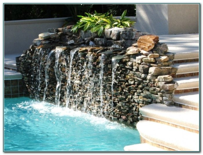 Above Ground Swimming Pool Fountains