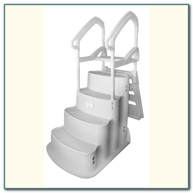 Above Ground Swimming Pool Ladders And Steps