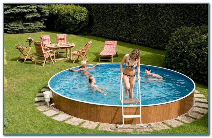 Above Ground Swimming Pools For Small Yards