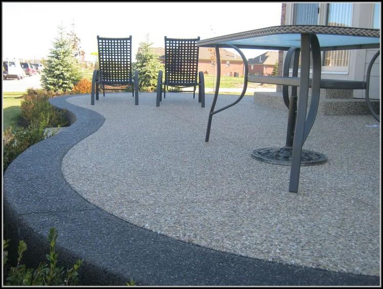 Aggregate Concrete Patio Pictures