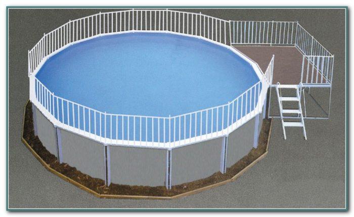 Aluminum Above Ground Pool Fence
