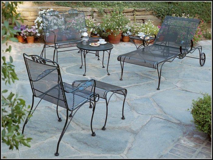 Antique Wrought Iron Patio Furniture Cushions