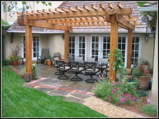 Back Patio Pergola Ideas