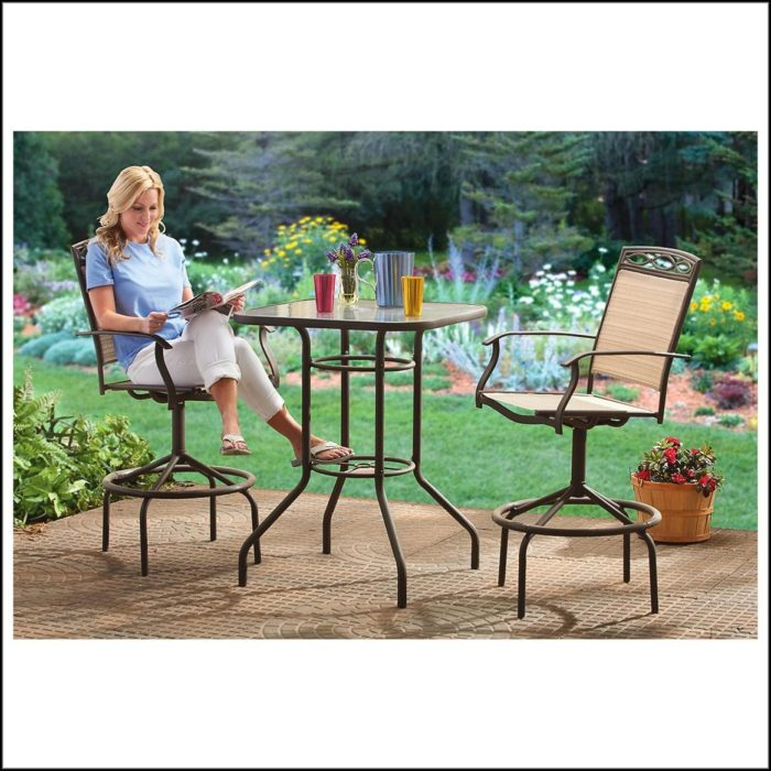 Bar Height Bistro Patio Set