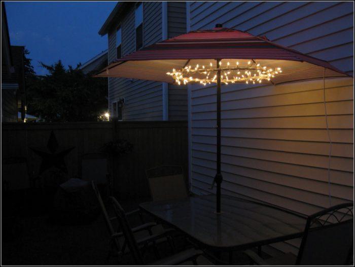 Battery Lights For Patio Umbrella