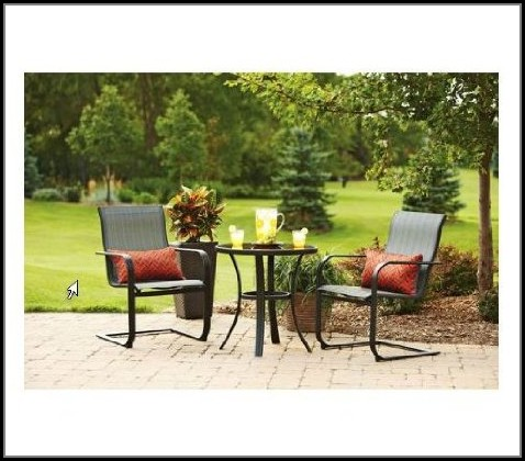 Cheap 3 Piece Bistro Patio Set
