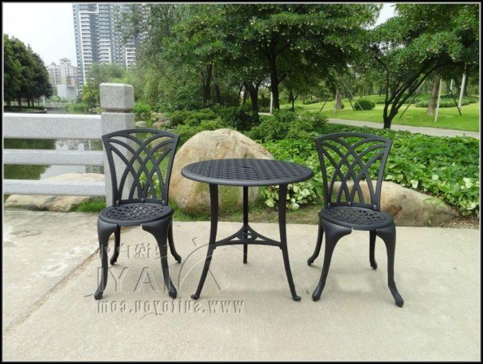 Cheap Black Metal Patio Chairs