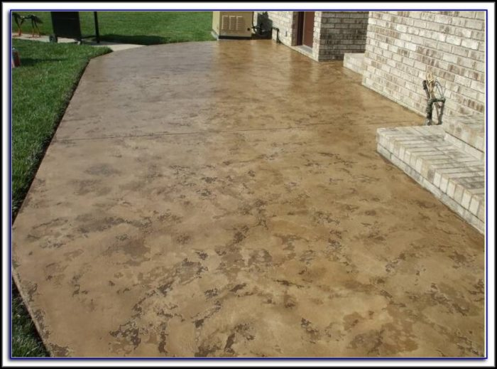 Concrete Patio Resurfacing Options