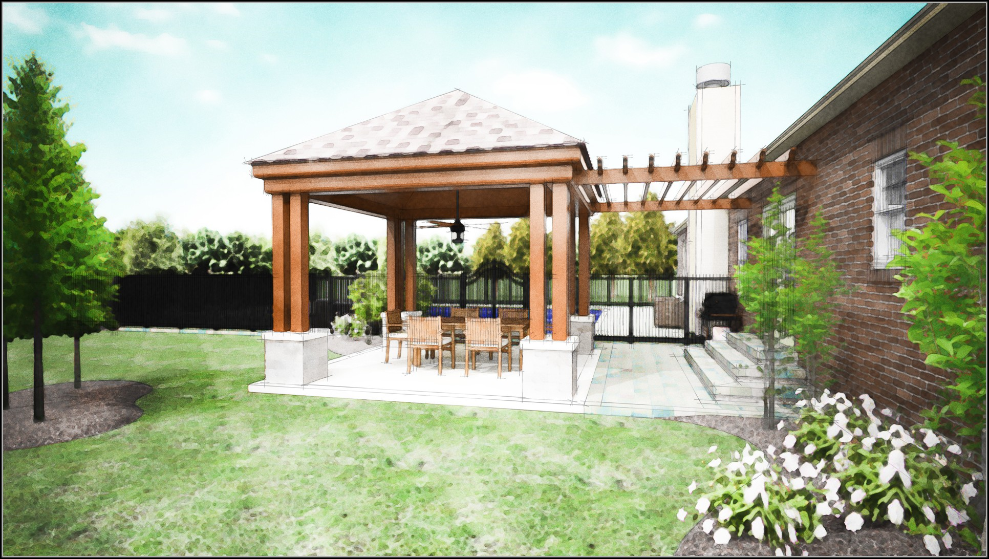 Covered Back Patio Ideas