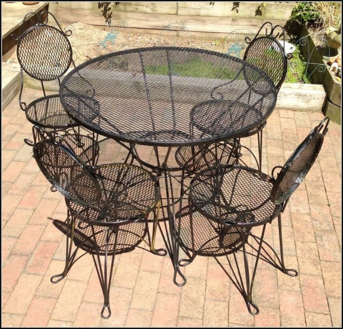 Craigslist Wrought Iron Patio Furniture