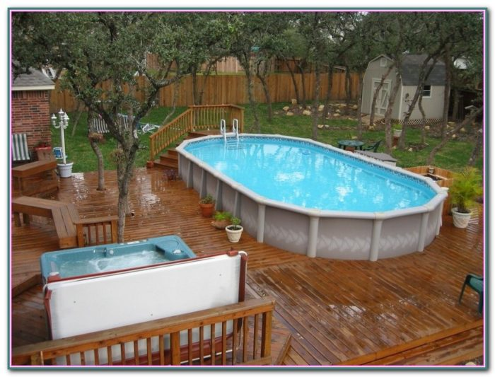 Decks Around Above Ground Pools Pictures