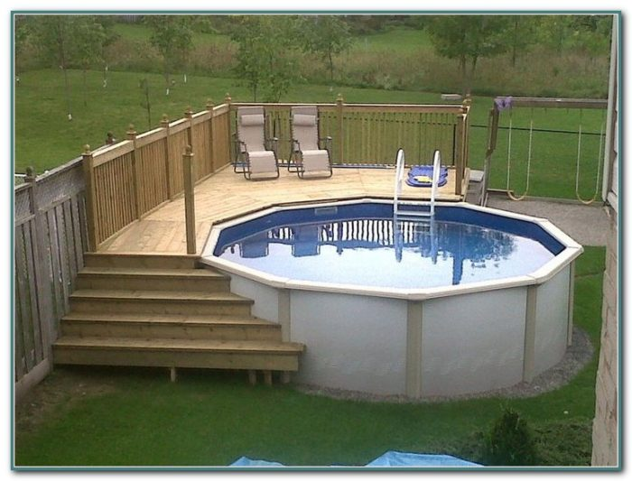Decks For Above Ground Pools