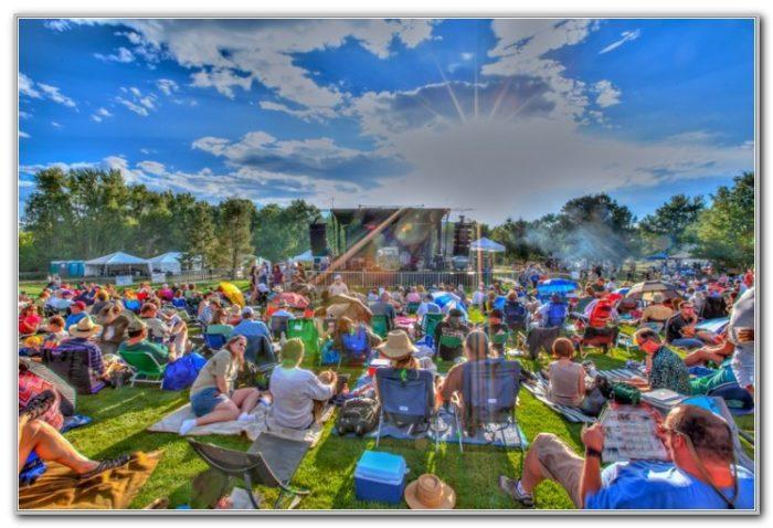 Denver Botanic Gardens Concerts 2016