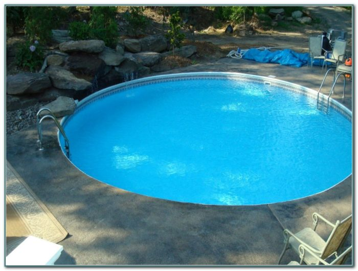 Diy In Ground Swimming Pool Kits