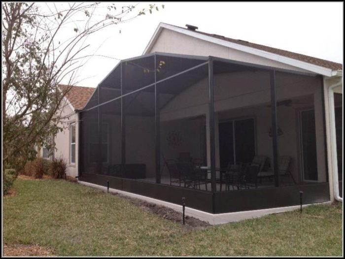 Patio Mate 7 Panel Screen Enclosure 79365 Patios Home
