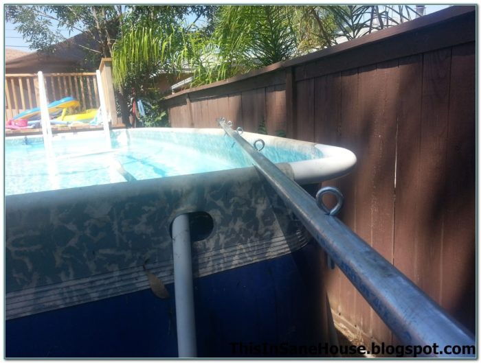 Diy Solar Cover Reel Above Ground Pool