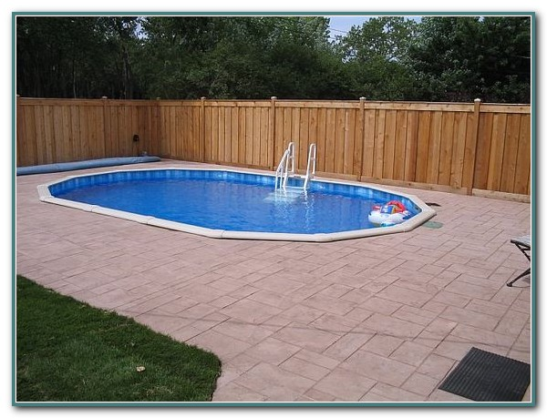 Pictures Of Buried Above Ground Pools Pools Home