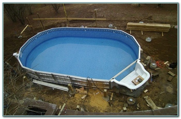 Ez Panel Semi Inground Pool Kits