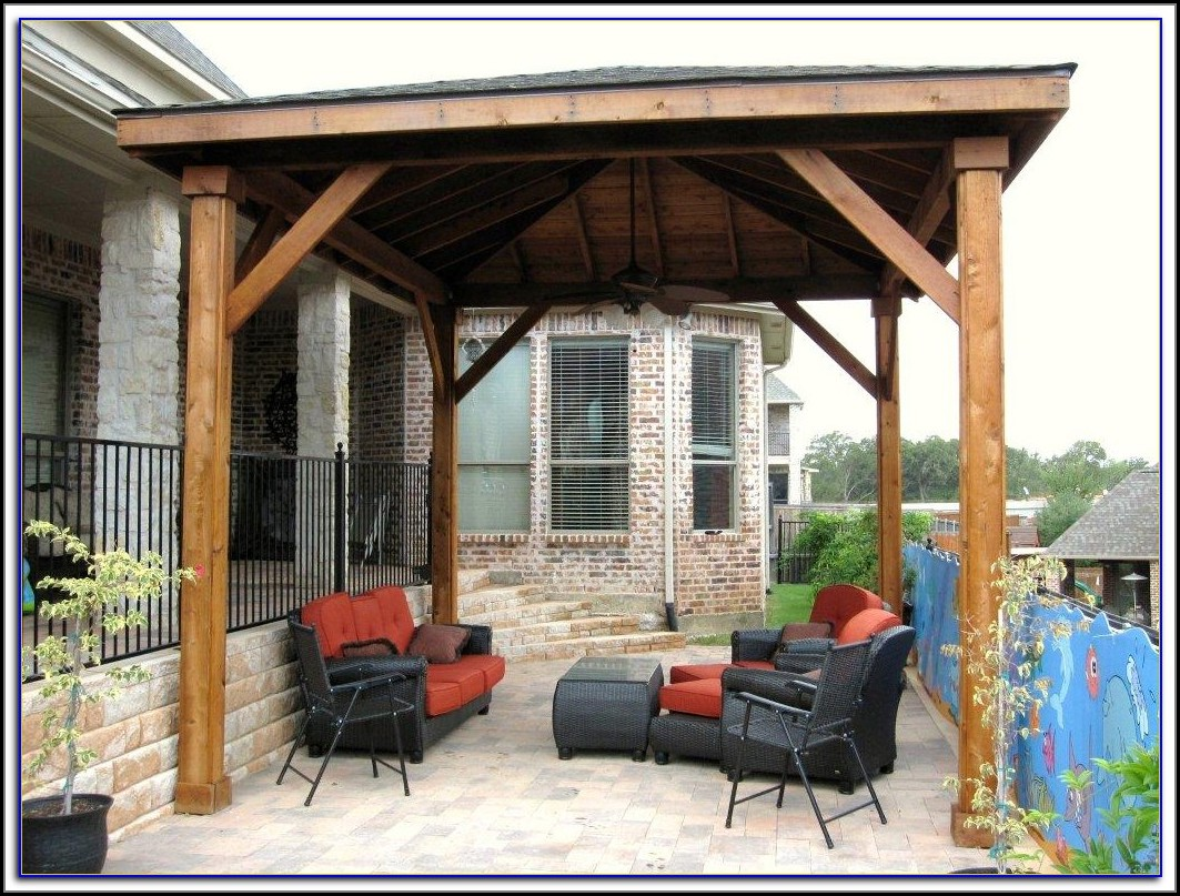 Free Standing Lattice Patio Cover Plans