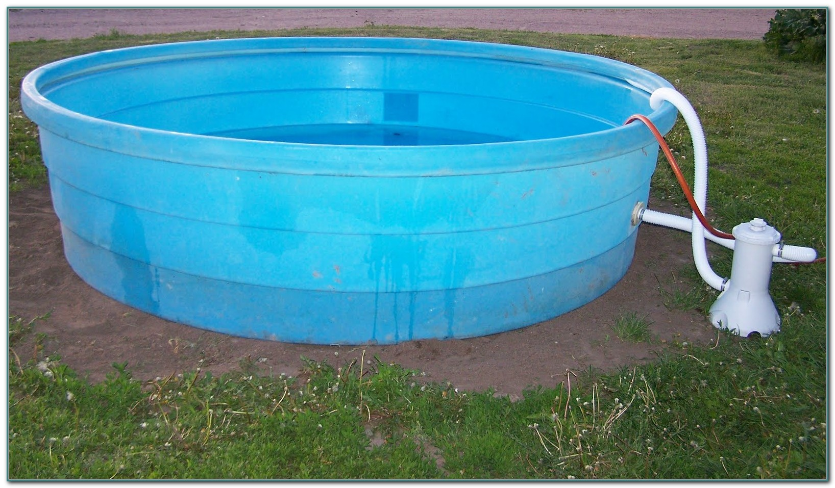 Galvanized Water Trough Swimming Pool