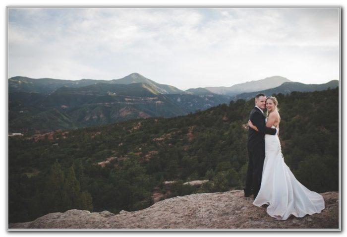 Garden Of The Gods Colorado Wedding